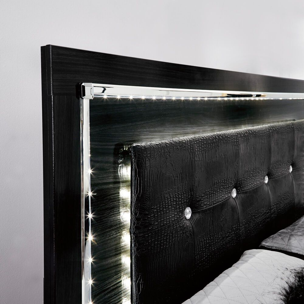 Signature Design by Ashley Kaydell Queen Panel Bed in Dark Gray, , large