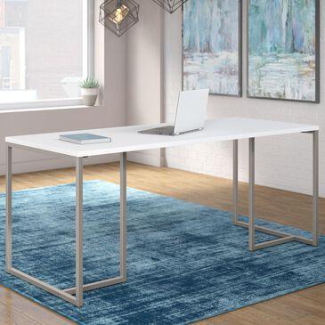 "Bush Method 72"" Table Desk in White, , large"