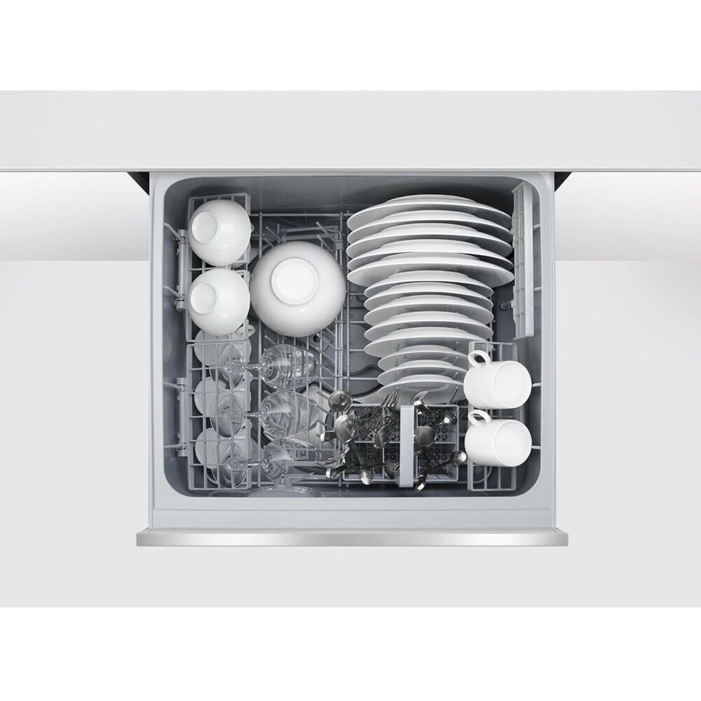 """Fisher and Paykel 24"""" Built-In Single Drawer Dishwasher in Stainless Steel, , large"""