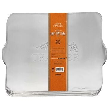 Traeger Grills Drip Tray Liner for Pro 575 and Pro 22 Grill in Aluminum - Set of 5, , large
