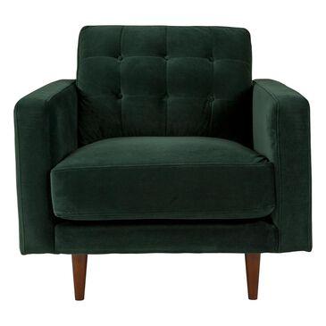 Urban Chic Ceebee Chair in Dark Forest Velvet, , large