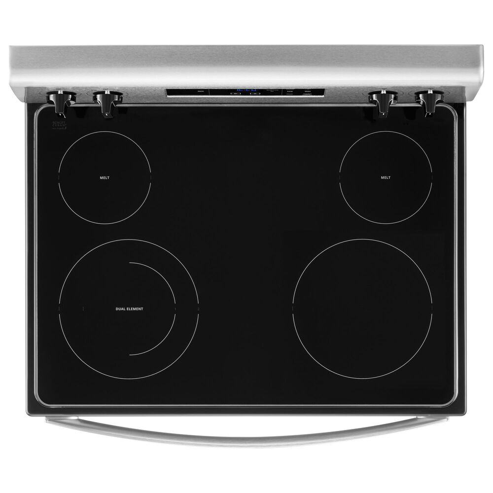 Whirlpool 5.3 Cu. Ft. Electric Range with Keep Warm in Stainless Steel, , large
