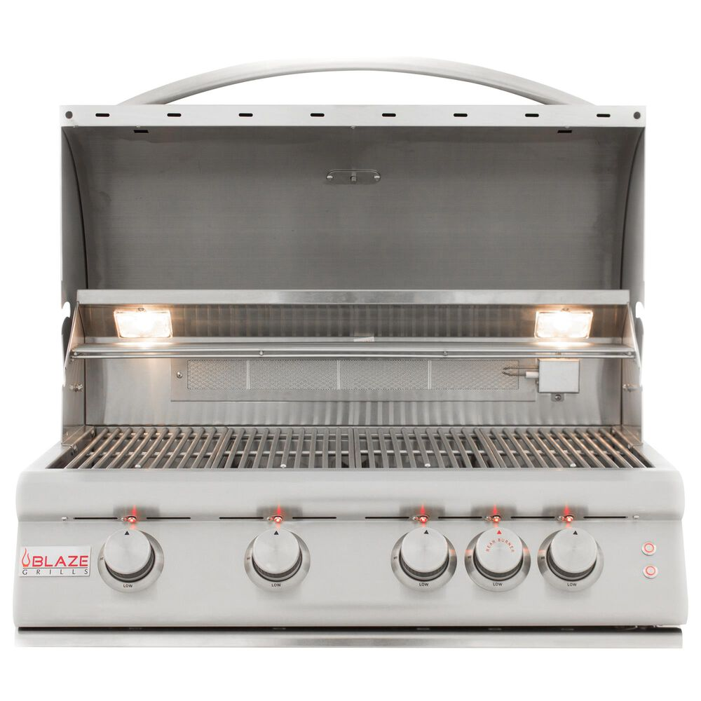 """Blaze 32"""" LTE Gas Grill with 4-Burner in Stainless Steel, , large"""