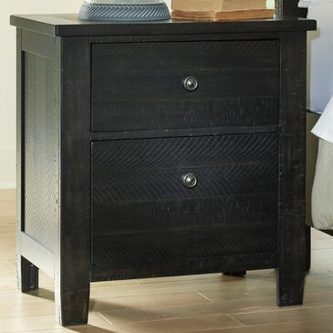 Signature Design by Ashley Noorbrook 2-Drawer Nightstand in Black, , large