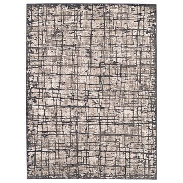 Scott Living Expressions Elan 91677-10038 2' x 3' Oyster Scatter Rug, , large