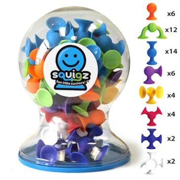 Fat Brain Toys Squigz Deluxe Set, , large