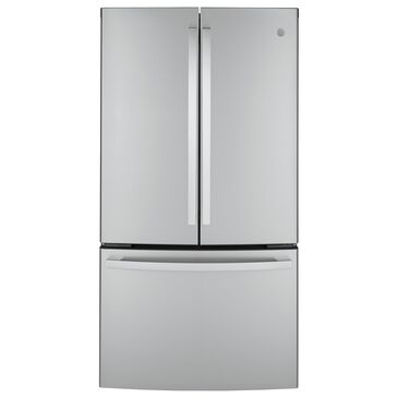 GE Appliances 23.1 Cu. Ft. Counter Depth French Door Refrigerator in Stainless Steel, , large
