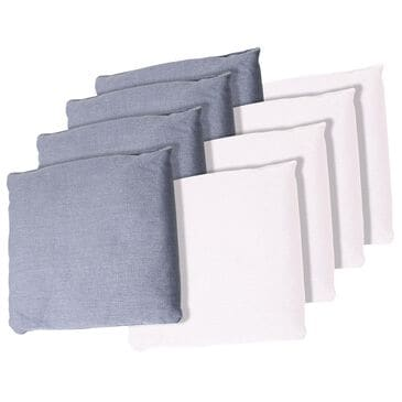 Timberlake Hey! Play! Cornhole Bag Set in White and Gray (Set of 8), , large