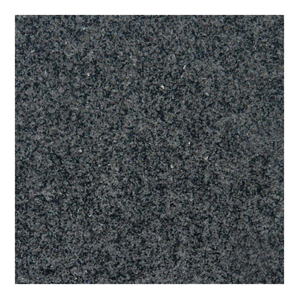 """MS International Impala Black 12"""" x 12"""" Polished Natural Stone Tile, , large"""