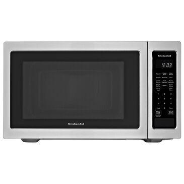 KitchenAid 1.6 Cu. Ft. 1200 Watt Countertop Microwave Oven in Stainless Steel, , large