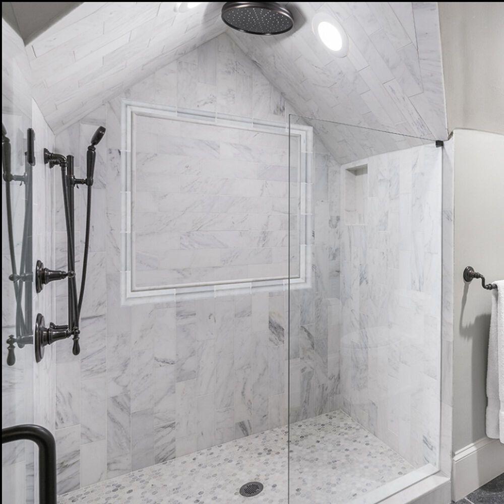"MS International Subway Arabsecato Carrara 4"" x 12"" Natural Stone Tile, , large"