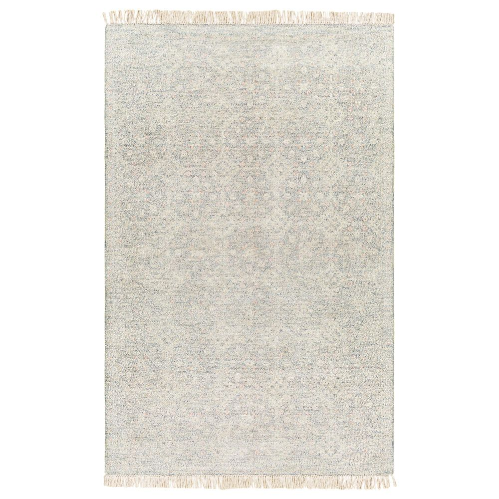 "Surya Amasya AMY-2301 5' x 7'6"" Green, Ivory and Coral Area Rug, , large"