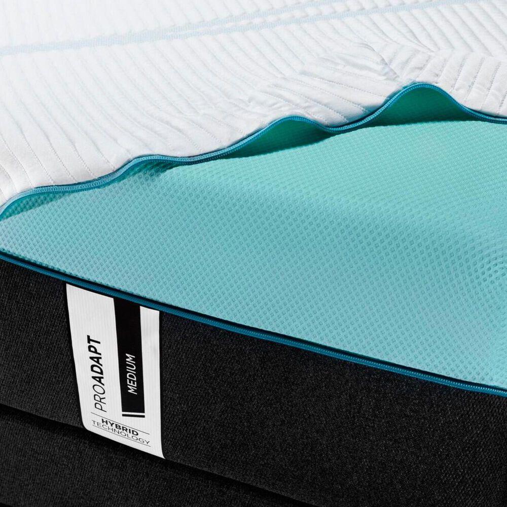 Tempur-Pedic TEMPUR-PROADAPT Medium Hybrid Queen Mattress with High Profile Box Spring, , large