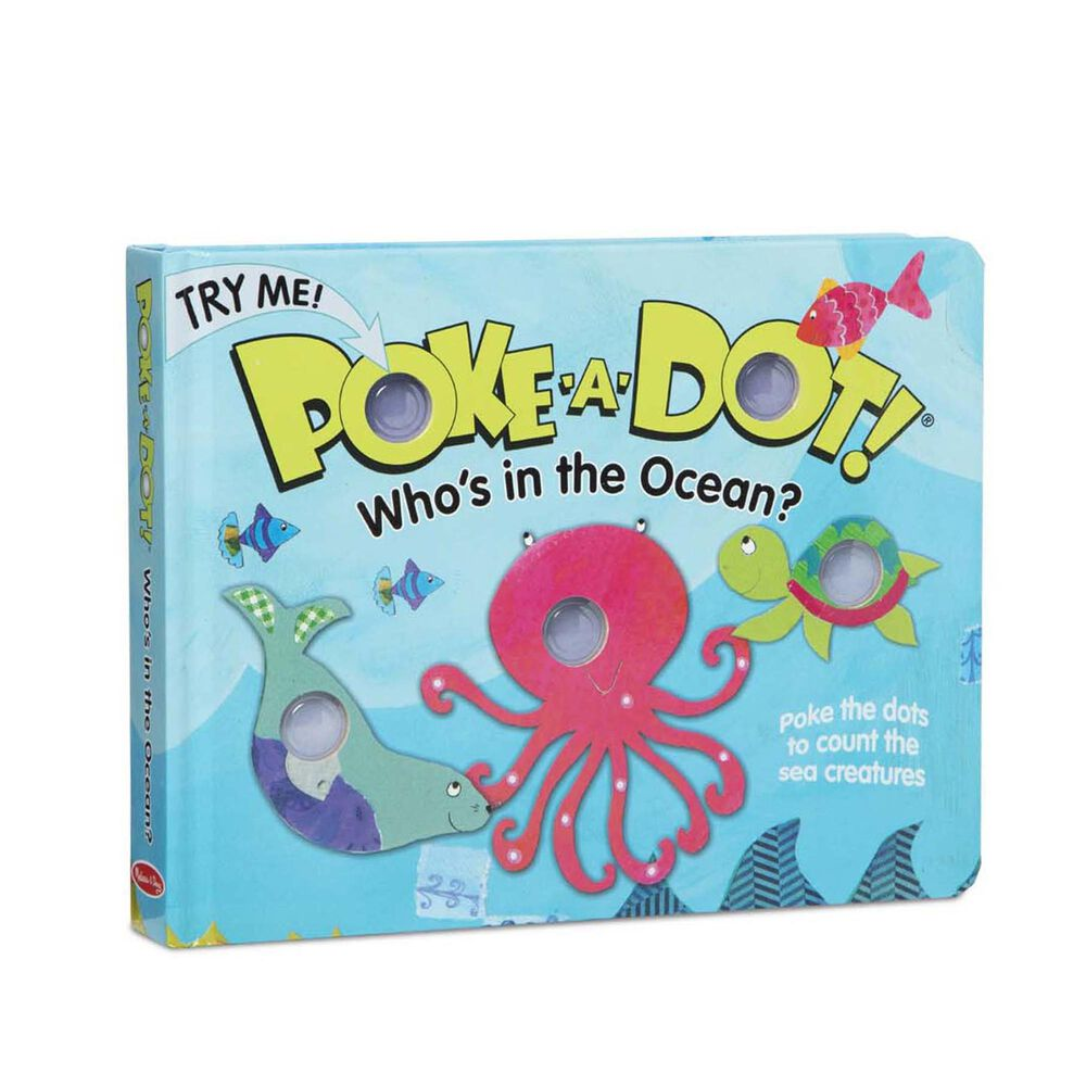 Melissa & Doug Poke-A-Dot: Who's in the Ocean, , large