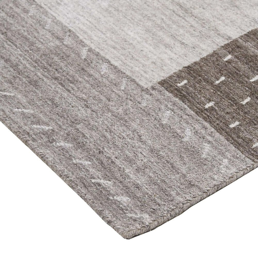 """Feizy Rugs Legacy 3'6"""" x 5'6"""" Light Gray Area Rug, , large"""