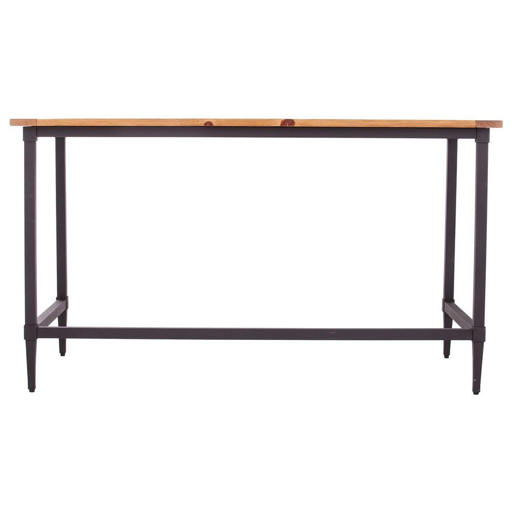 Southern Enterprises Lawrenny Desk in Natural and Black, , large