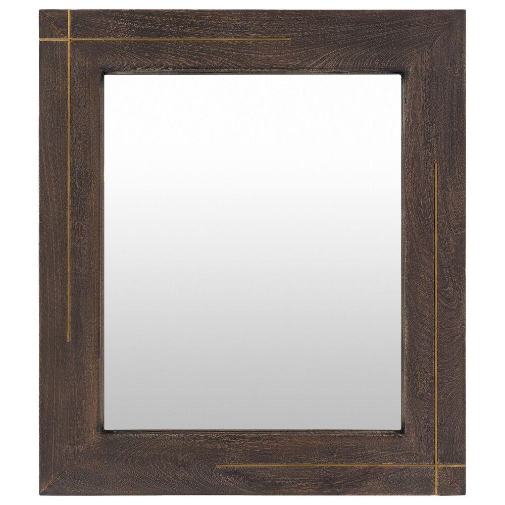 Surya Inc Haveli Wall Mirror in Brown, , large