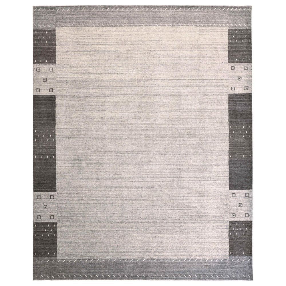 """Feizy Rugs Legacy 5'6"""" x 8'6"""" Light Gray Area Rug, , large"""