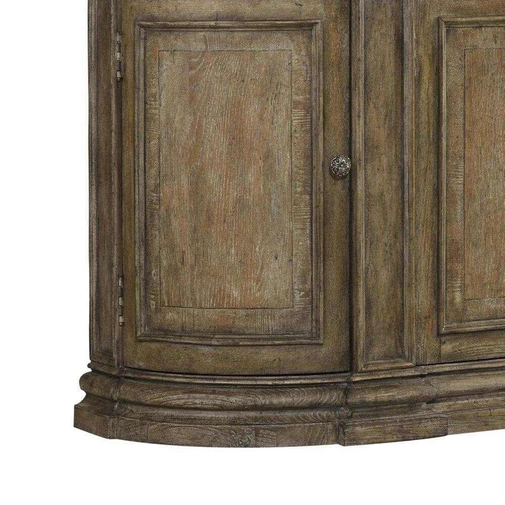 Hooker Furniture Solana 3-Drawer Buffet with 4 Doors in Light Caramel Latte, , large