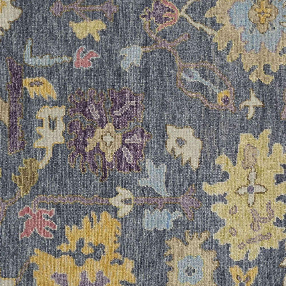 """Feizy Rugs Karina 3'6"""" x 5'6"""" Blue and Beige Area Rug, , large"""