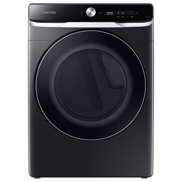 Samsung 7.5 Cu. Ft. Smart Dial Electric Dryer with Super Speed Dry in Brushed Black, , large