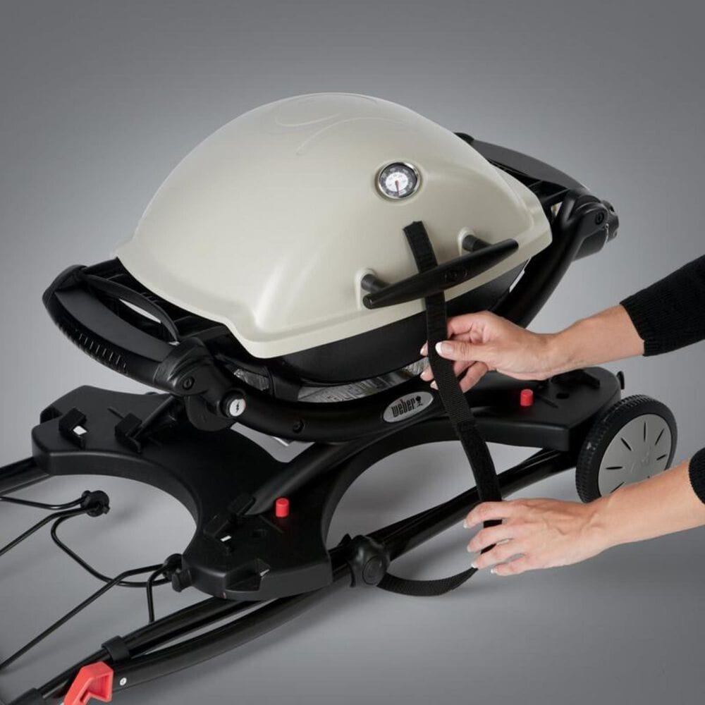 Weber Q Portable Cart in Black, , large