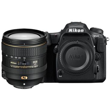 Nikon D500 DSLR Camera with 16-80mm Lens, , large