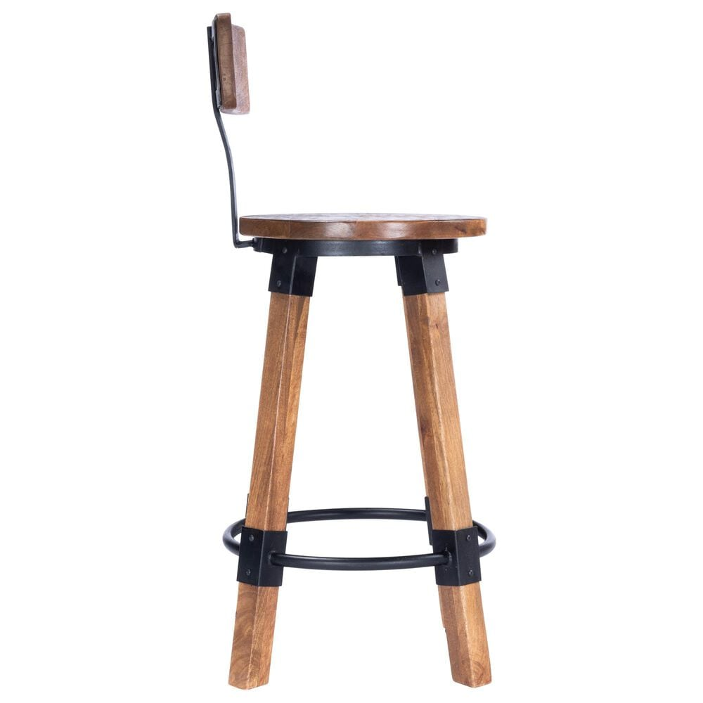 Butler Masterson Counter Stool in Natural Wood, , large