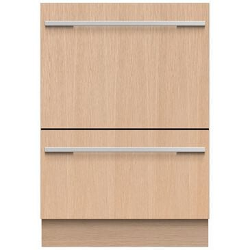 Fisher and Paykel Double DishDrawer Built-In Dishwasher with 14 Place Settings Panel Ready (Tall) , , large