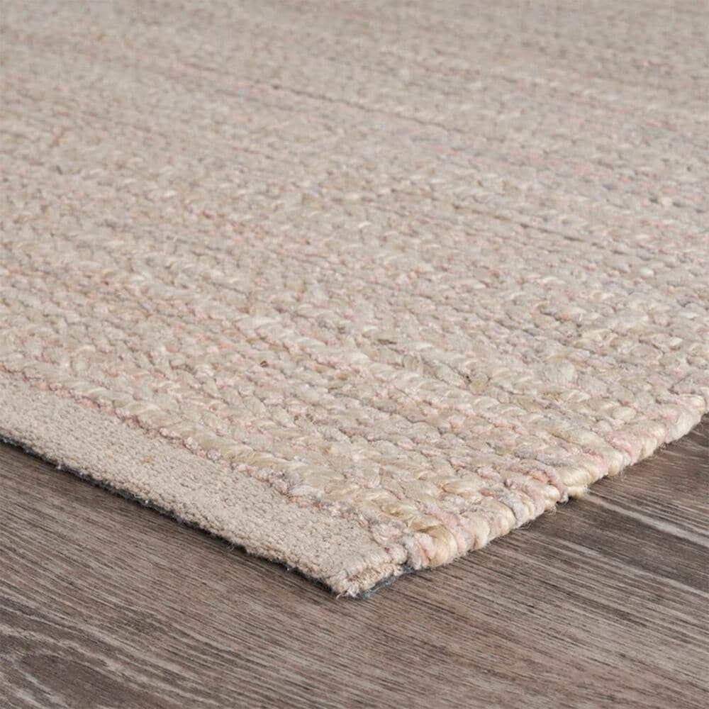 L&R Resources Bleached Naturals 8' x 10' Blush Area Rug, , large