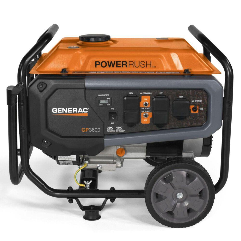 Generac GP3600 49ST/CSA Portable Generator, , large