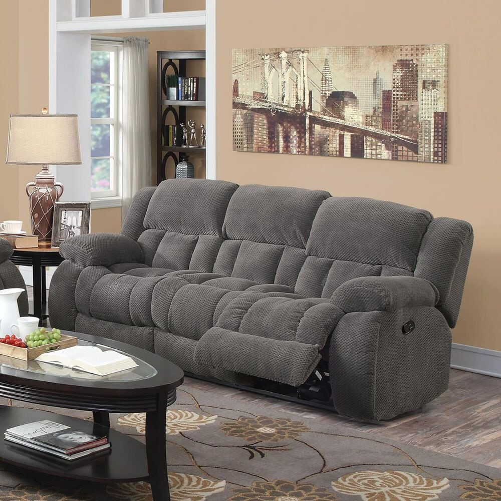 Pacific Landing Weissman Motion Sofa in Charcoal, , large