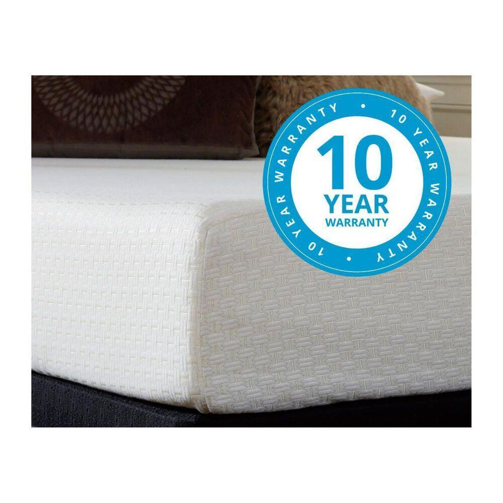 """Sierra Sleep 10"""" Memory Foam Queen Bed in a Box, , large"""