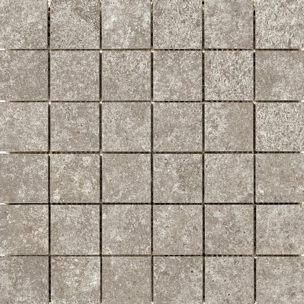 "Emser Topanga Tan 2"" x 2"" Square on 12"" x 12"" Ceramic Mosaic Sheet, , large"
