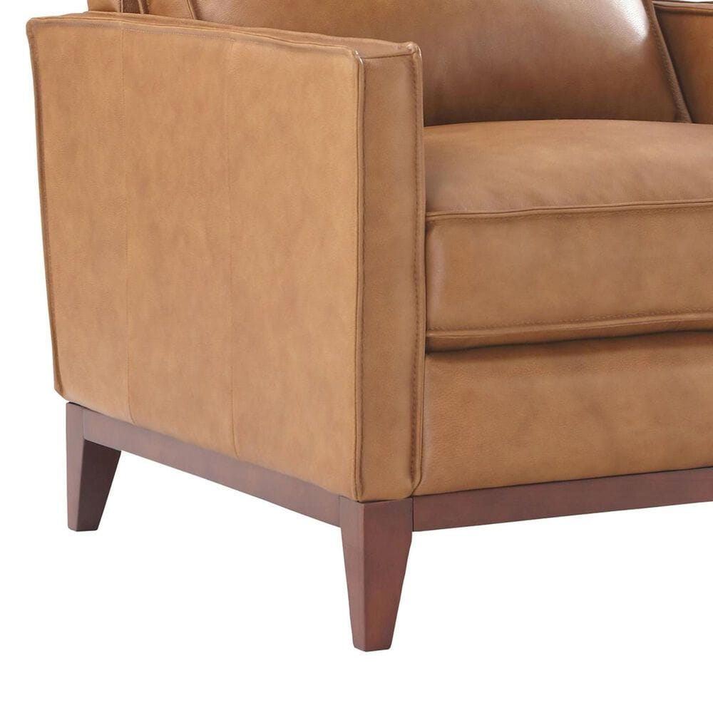 Italiano Furniture Newport Leather Chair in Camel, , large