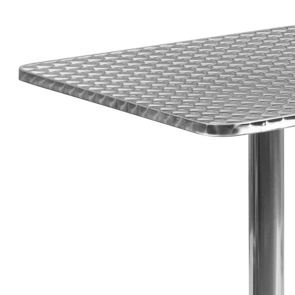"""Flash Furniture 23.5"""" Table in Gray, , large"""