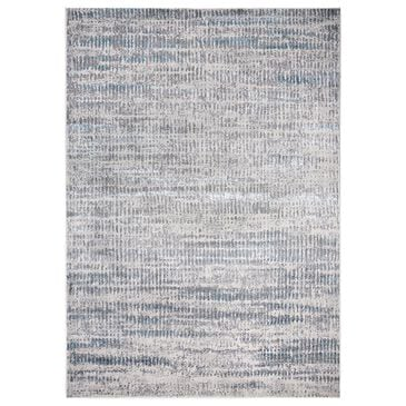 Feizy Rugs Azure 3402F 8' x 11' Blue and Gray Area Rug, , large
