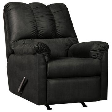 Signature Design by Ashley Darcy Rocker Recliner in Black, , large