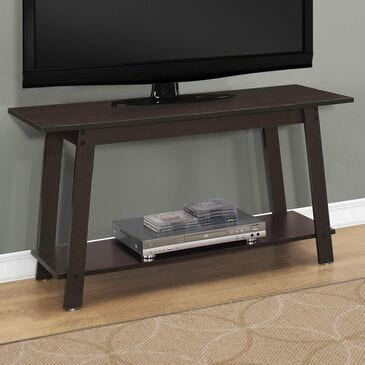 "Monarch Specialties 42"" TV Stand in Cappuccino, , large"