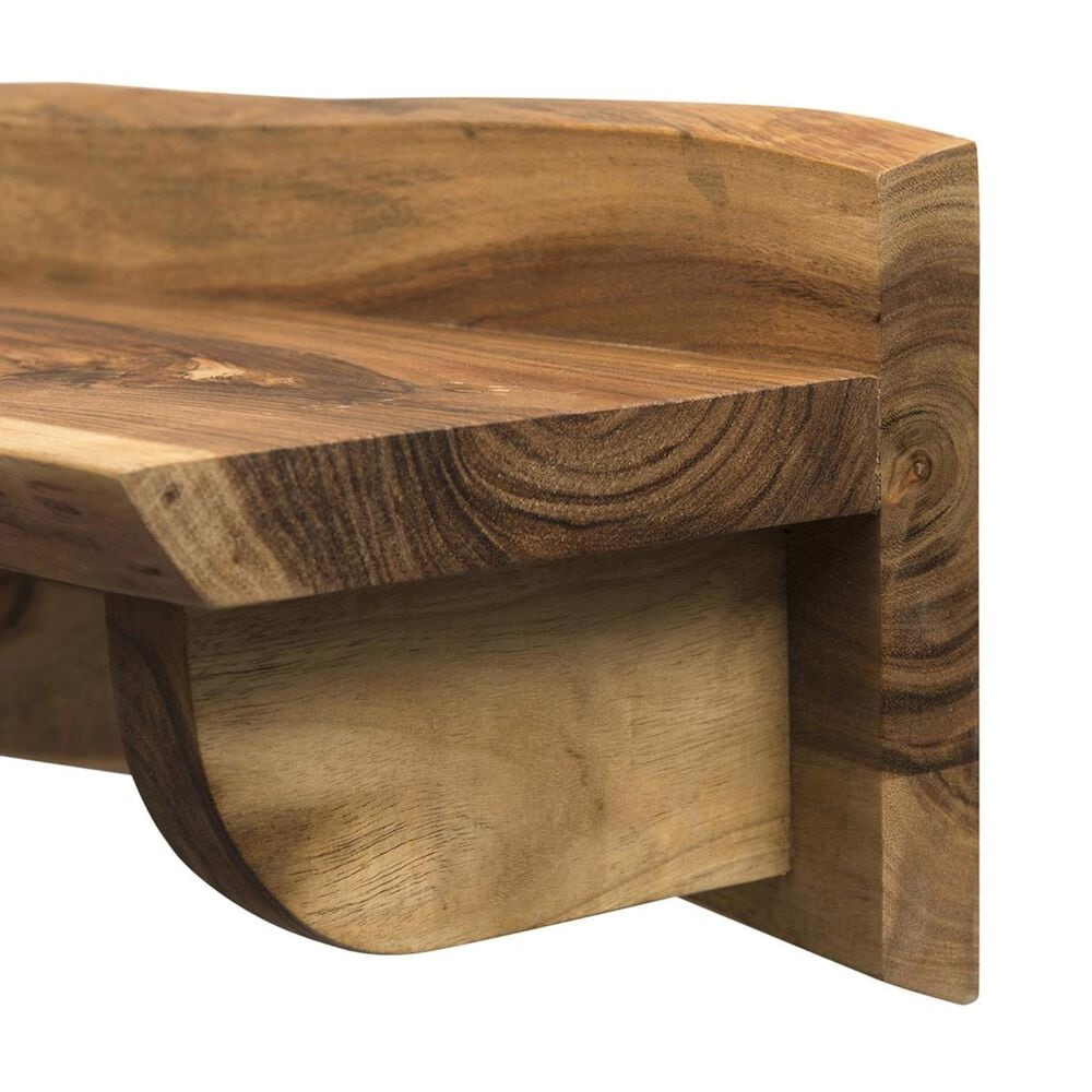 "Bolton Furniture Alpine 36"" Mantel Shelf in Natural, , large"