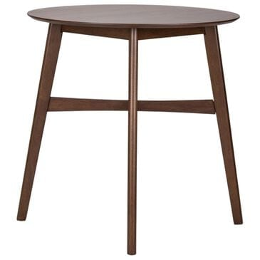 Belle Furnishings Space Savers Gathering Table in Satin Walnut - Table Only, , large