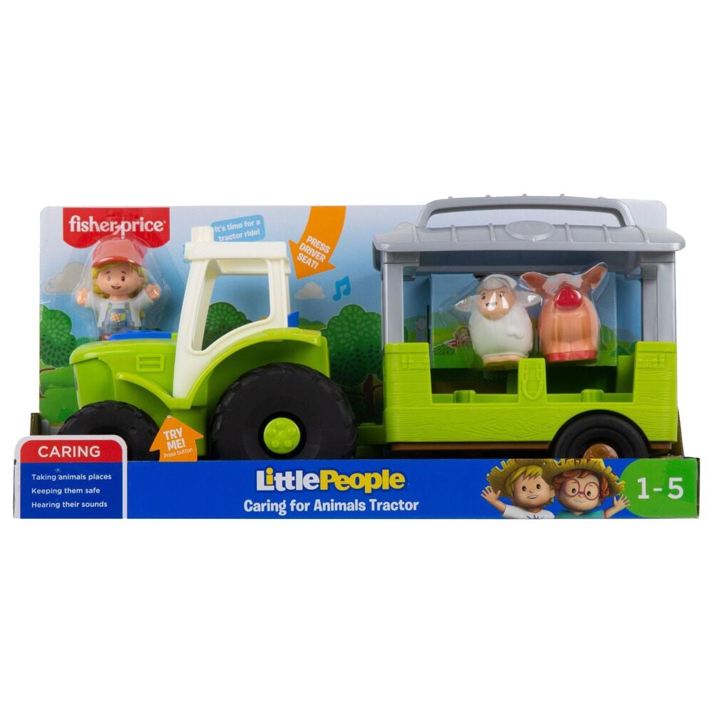 Little People Caring for Animals Tractor, , large