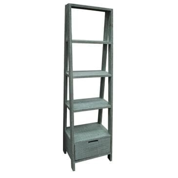 Santa Fe Rustic Vertical Ladder in Vintage Turquoise, , large
