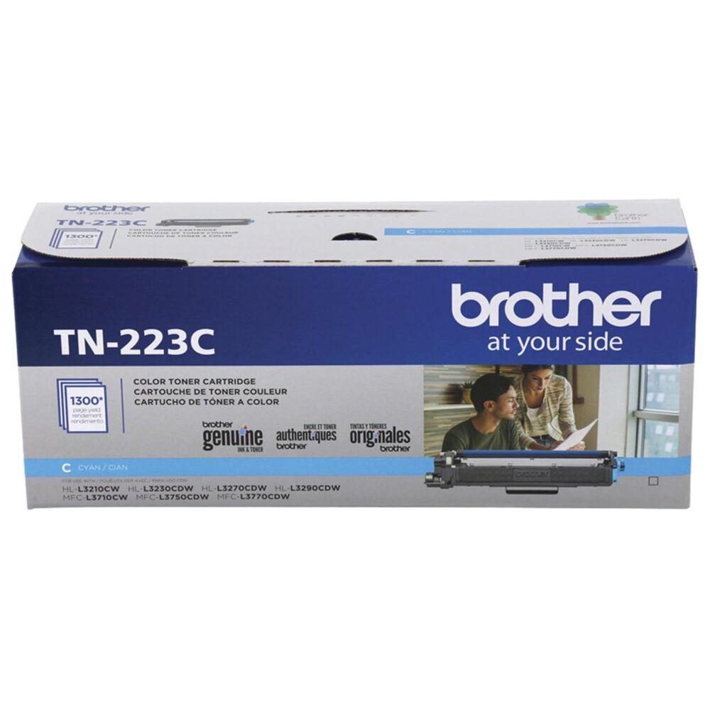 Brother TN223C Standard Yield Toner Cartridge in Cyan, , large