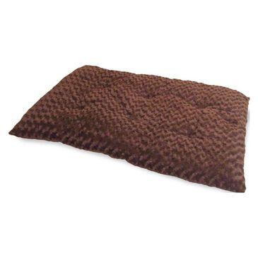 Timberlake Lavish Cushion Furry Pet Bed in Brown, , large
