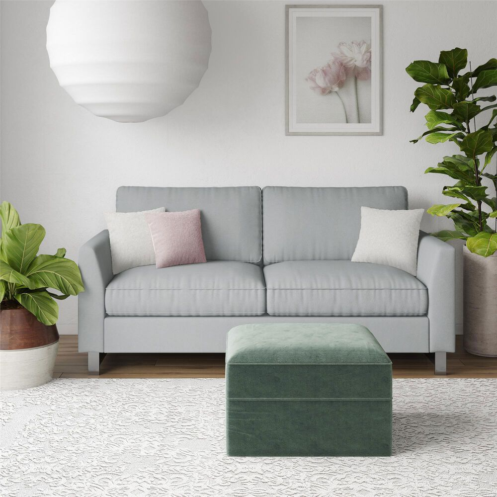 Dorel Asia Dante Sofa in Light Gray, , large