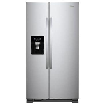 Whirlpool 21 Cu. Ft. Side by Side Refrigerator in Stainless Steel, , large