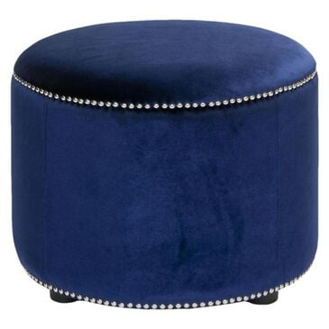Safavieh Hudson Hogan Ottoman in Blue, , large