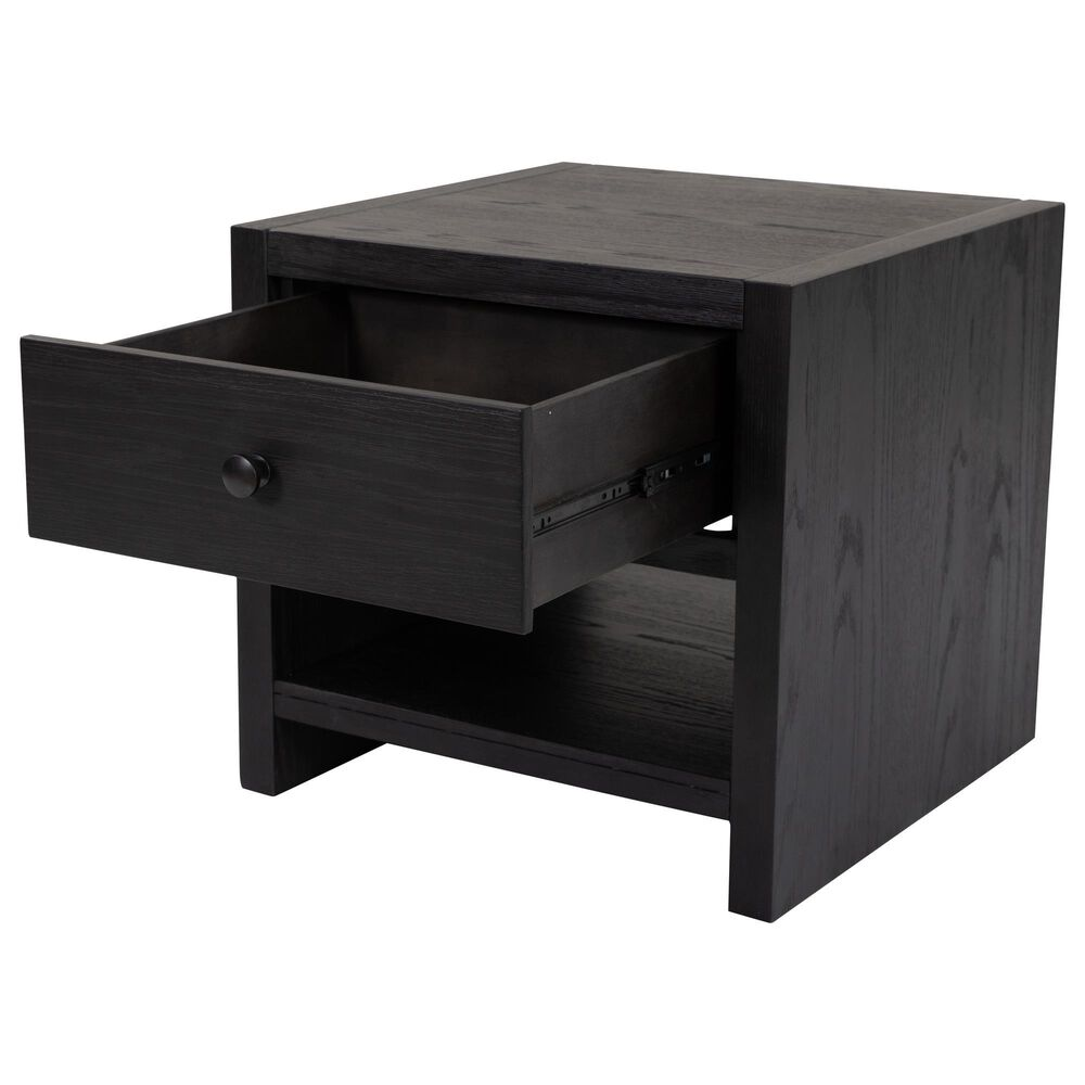 Signature Design by Ashley Foyland Square End Table in Black, , large