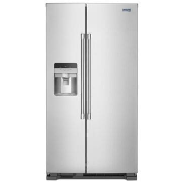Maytag 25 Cu. Ft. Side By Side Refrigerator in Stainless Steel, , large